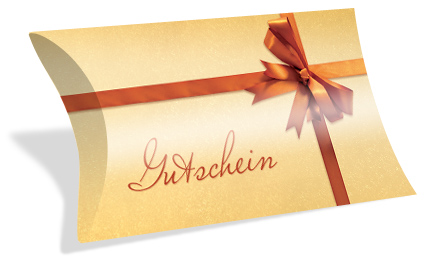 "Gutscheinkarte Etui ""golden surprise"""