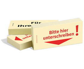 BISTIX Business Haftnotizen