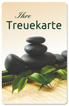 "Treuekarte ""Asia workout"""