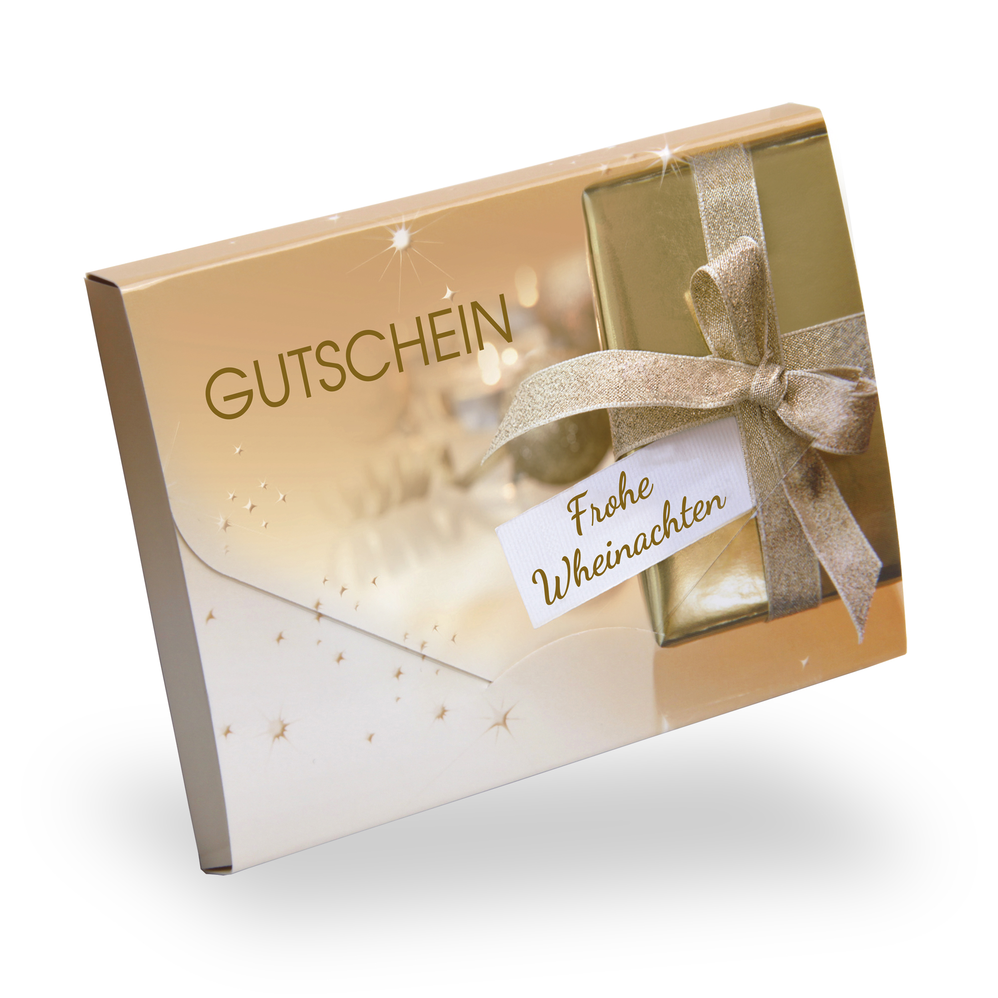 "Gutscheinkarte Cute Case ""golden wonder"" individuell"
