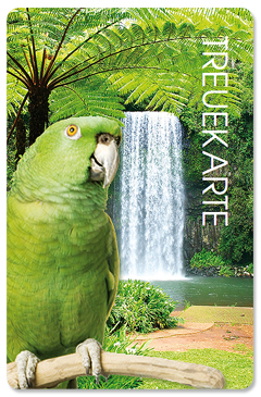 "Treuekarte ""Jungle Paradise"""